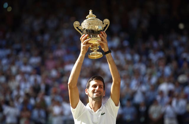 Jubb is an admirer of defending Wimbledon champion Novak Djokovic