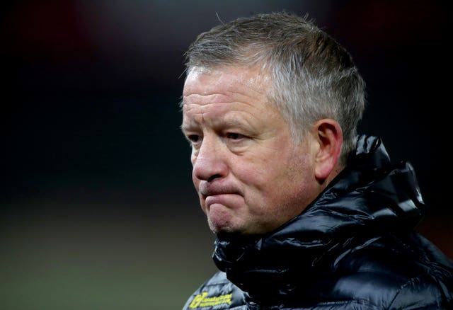 Chris Wilder is looking to turn things around at Sheffield United