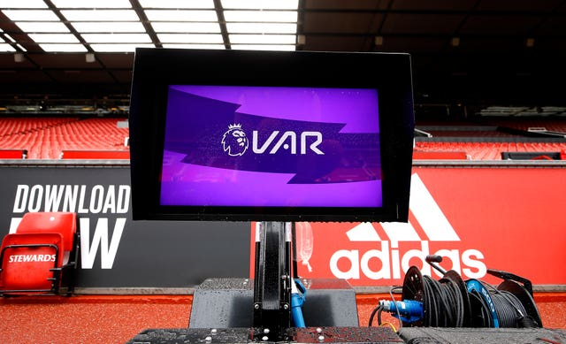 The pitchside monitors are yet to be used in a Premier League match