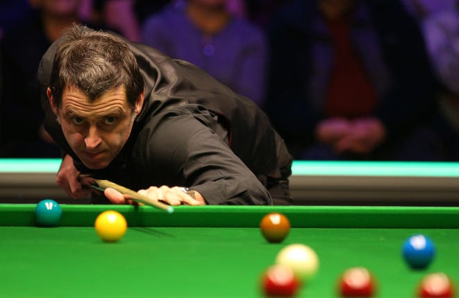 Ronnie O'Sullivan SPOTY Contender file photo