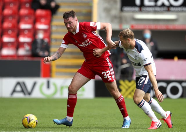 Ryan Edmondson (left) has joined Aberdeen on loan from Leeds