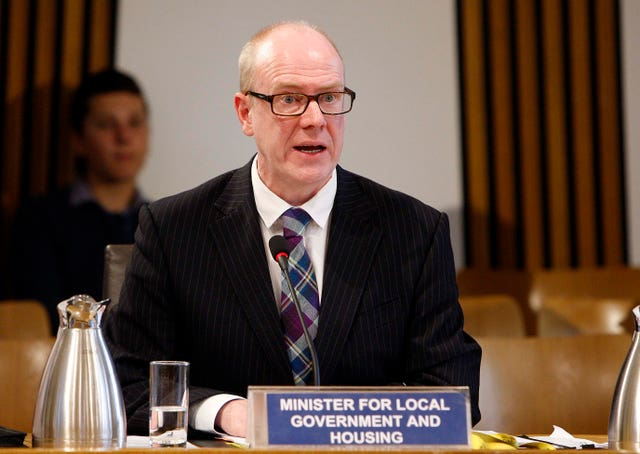 Housing Minister Kevin Stewart welcomed the new code (Scottish Parliament/PA)