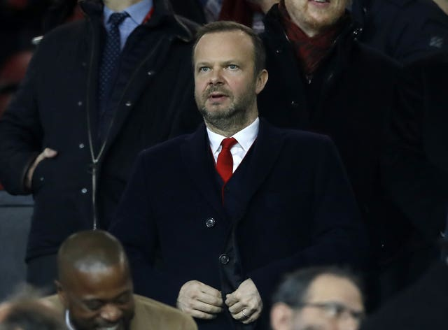 Executive vice-chairman Ed Woodward is looking for United to kick on next term