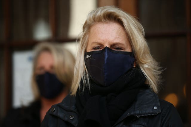 Jennifer Saunders joins the protest