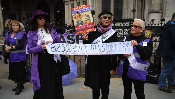 Campaigners urge Parliament to intervene over state pension age changes