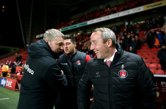 Hull manager Grant McCann (left) and Charlton boss Lee Bowyer both have worries on and off the pitch
