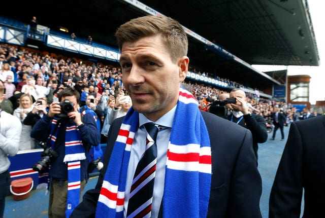 Gerrard admits he knew rebuilding Rangers was a long-term project when he took over in 2018