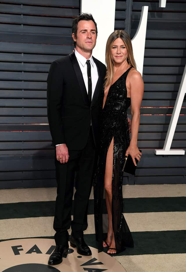 Jennifer Aniston and Justin Theroux (PA)