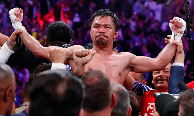 The 40-year-old became the oldest welterweight champion in history