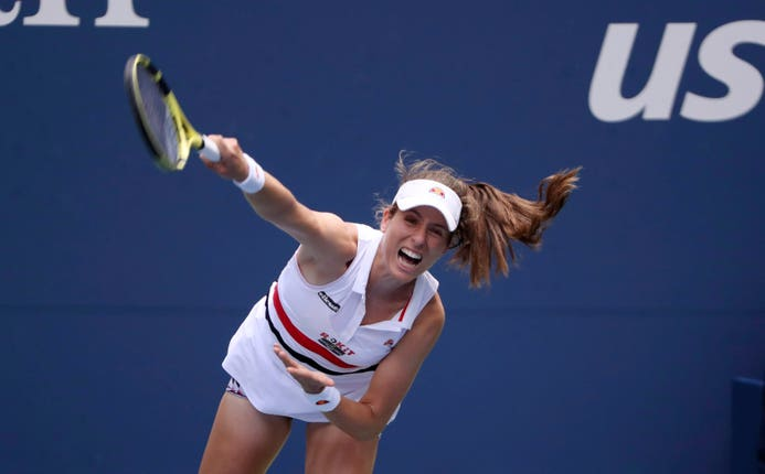 Konta has had a great run at the grand slams this year