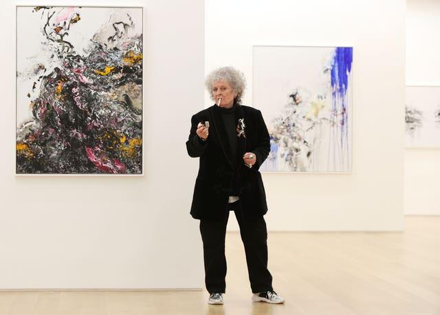 British artist Maggi Hambling