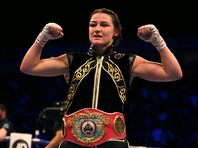 Katie Taylor headlines a triple-header of women's world title bouts