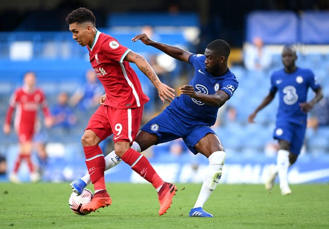 Fikayo Tomoi in action for Chelsea