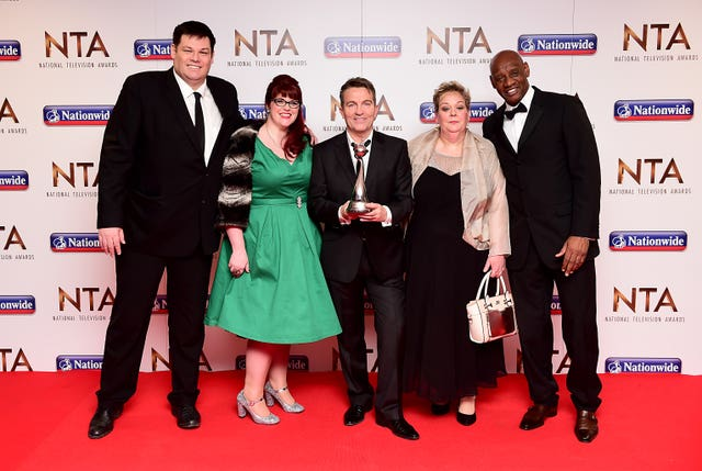 National Television Awards 2016 – Press Room – London
