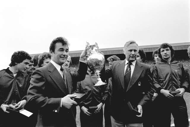 Martin O'Neill, Brian Clough and Peter Taylor