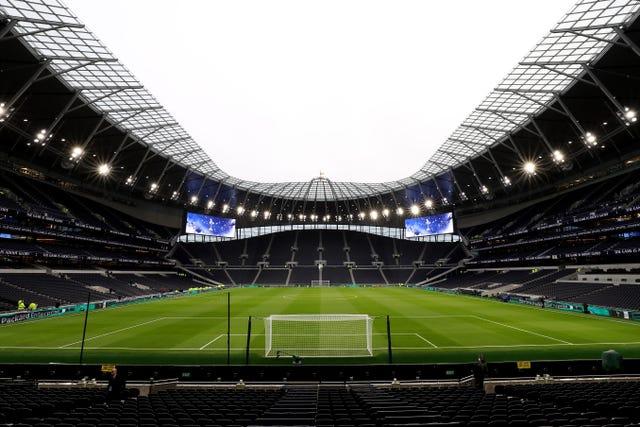 Spurs moved into their new Tottenham Hotspur Stadium last April
