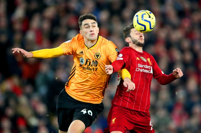 Lallana was ruled to have brought the ball down with his shoulder in a VAR-marred game at Anfield