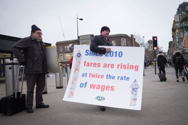 Rail fares annual increase