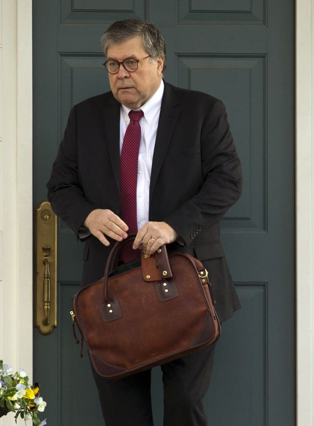 Trump Russia Probe Barr