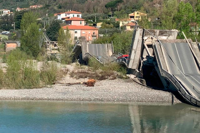 Italy Collapsed Bridge