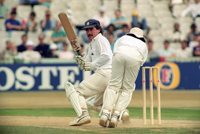 Allan Lamb scored a century to help England to victory