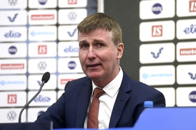 Stephen Kenny took charge of the Republic of Ireland in April (Emmi Korhonen/PA).