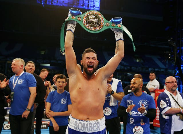 Tony Bellew realised his world title ambitions in May 2016 (Martin Rickett/PA)