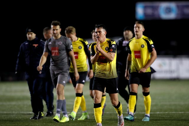 Harrogate Town v Portsmouth – FA Cup – First Round – CNG Stadium