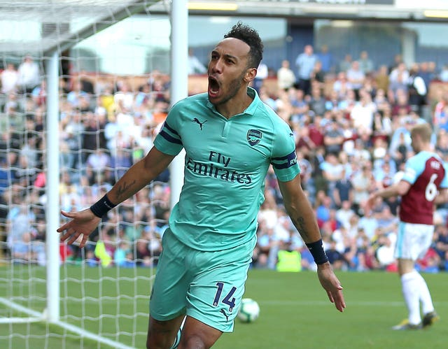 Pierre-Emerick Aubameyang hit 22 Premier League goals last season.