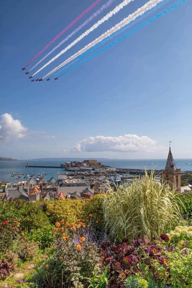 Battle Of Britain Display over Guernsey