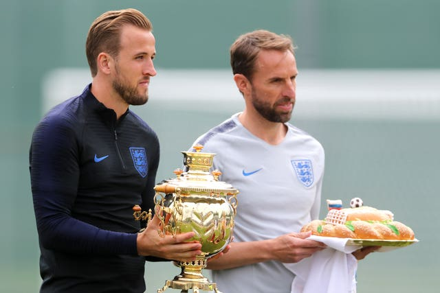 Harry Kane and Gareth Southgate