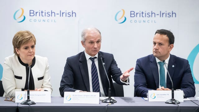 British Irish Council summit meeting