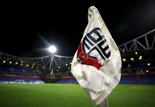 Bolton will start next season with a 12-point deduction (Tim Goode/PA