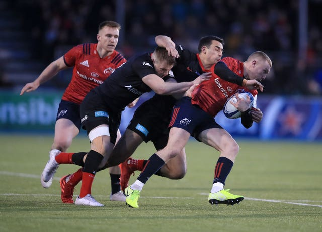 Saracens v Munster Rugby – European Rugby Champions Cup – Pool Four – Allianz Park