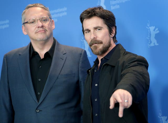Adam McKay and Christian Bale