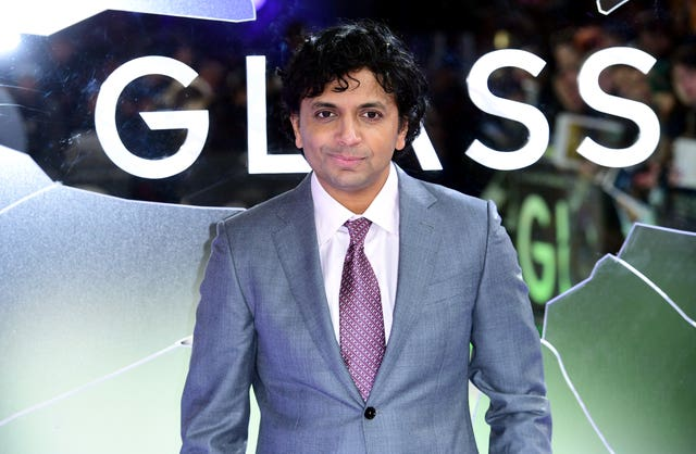 M Night Shyamalan at Glass European Premiere – London